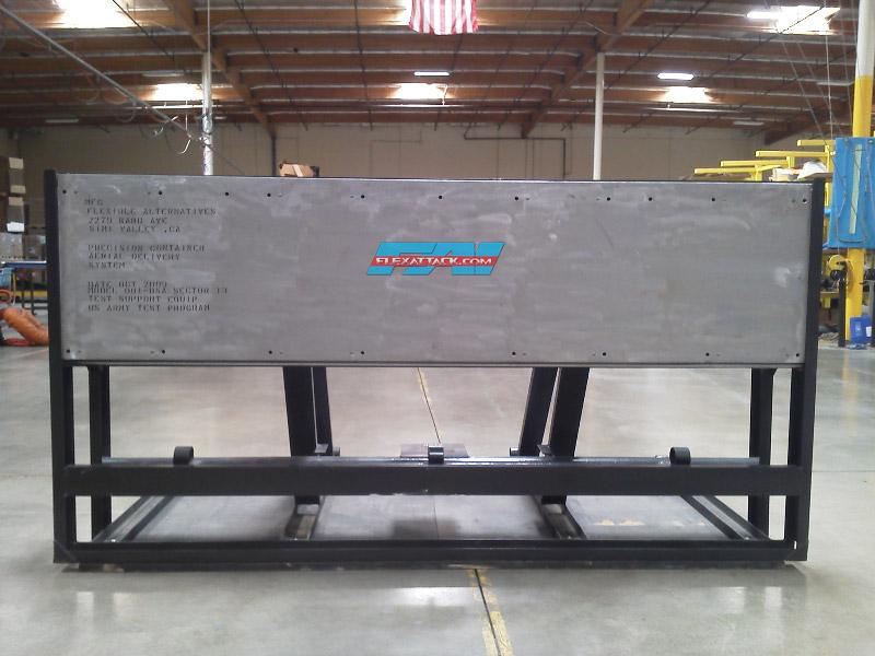 C-130 buffer stop assembly