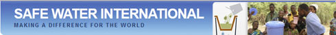 FAI supports Safe Water International